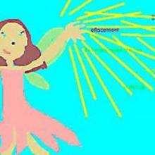 Dessin d'enfant : La fée anti-problèmes