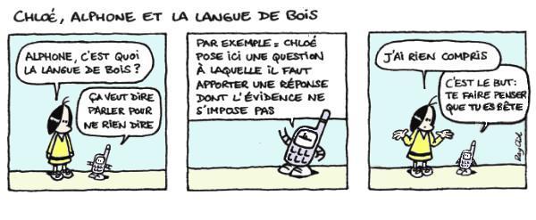 Langue de bois - Lecture - Bande dessinée - L-M-N-O