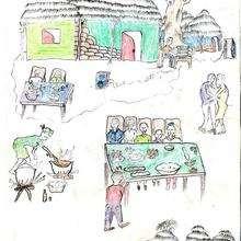Le baptême n°2 - Lecture - REPORTAGES pour enfant - Aide et Action - 1ère vague de correspondance SENEGAL
