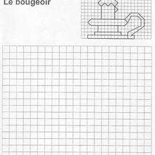 Le bougeoir - Jeux - Jeux de Quadrillages