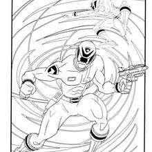 Coloriage du combat des ninjas - Coloriage - Coloriage DESSINS ANIMES - Coloriage POWER RANGERS - Coloriage NINJA POWER RANGERS