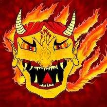 Dessin d'enfant : Le dragon de Benoit