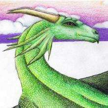 Le dragon de Elodie