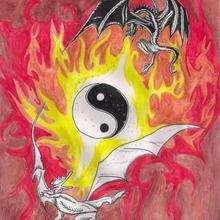Dessin d'enfant : Le dragon de Fanny