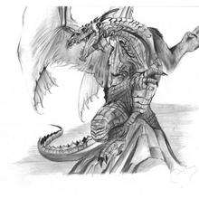 Le dragon de Guillaume - Dessin - Dessin DRAGON