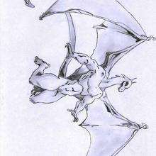 Le dragon de Thomas2 - Dessin - Dessin DRAGON