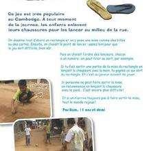 Le lancer de chaussures, un jeu du Cambodge - Jeux - Jeux entre amis