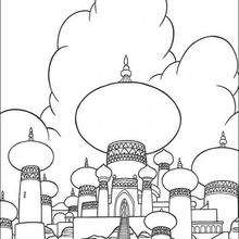 Coloriage Disney : Coloriage du Palais
