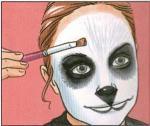 Maquillage de panda - Activités - Maquillage