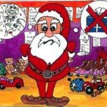 Le Pere-Noël et les jouets