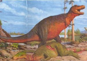 Le Tyrannosaurus - Lecture - Reportages - Animaux