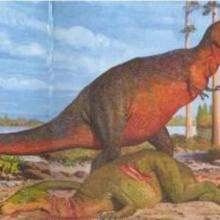 Le Tyrannosaurus - Lecture - REPORTAGES pour enfant - Fiches pédagogiques sur les animaux