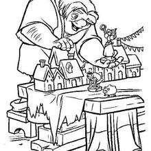 Coloriage des jouets de Quasimodo