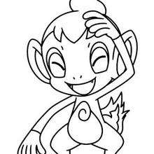 Dessin imprimer du pokemon salameche - Pokemon ouisticram ...
