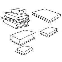 Coloriage des livres de Oui Oui - Coloriage - Coloriage OUI-OUI - Coloriage ACCESSOIRES DE OUI-OUI