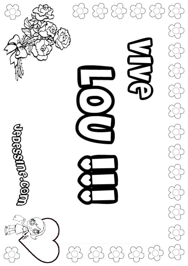 Coloriage de lou my blog - Lou coloriage ...