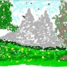 Ma forêt - Dessin - Dessin NATURE - Dessin FORET