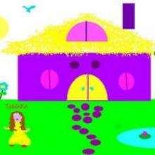 Dessin d'enfant : Maison