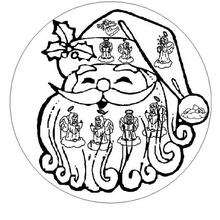 Mandala du Père Noël