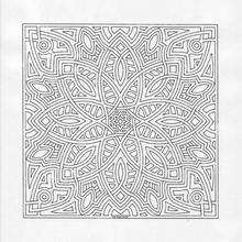 Coloriage de Mandala N°11 - Coloriage - Coloriage MANDALA