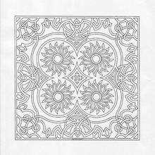 Coloriage de Mandala N°12 - Coloriage - Coloriage MANDALA
