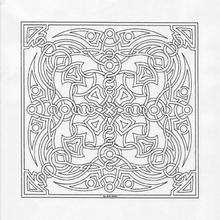 Coloriage de Mandala N°13 - Coloriage - Coloriage MANDALA
