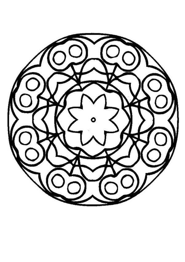 Mandala à imprimer