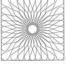 Mandala à colorier gratuitement - Coloriage - Coloriage MANDALA