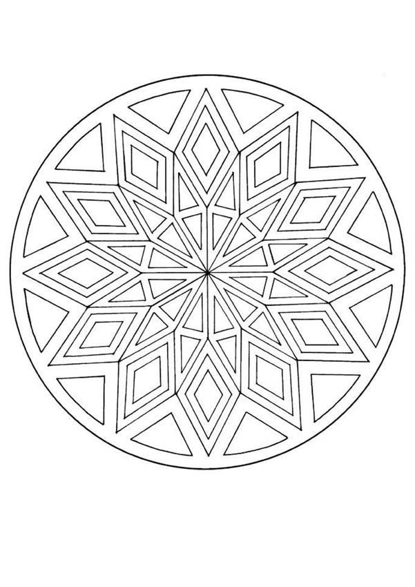Coloriages colorier des mandalas - Mandala colorier ...