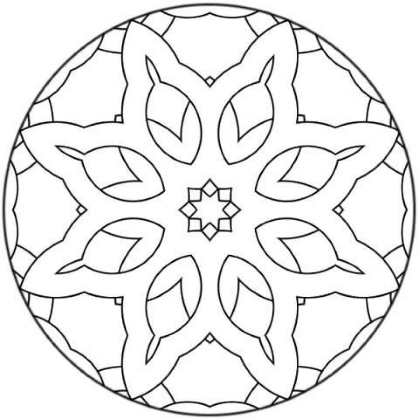 Dibujos De Decoraciones Con Figuras Geometricas Y Otros