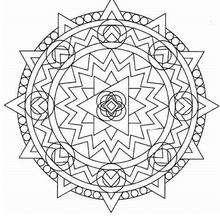 Coloriage de Mandala N°37 - Coloriage - Coloriage MANDALA