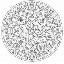 Coloriage de Mandala N°50 - Coloriage - Coloriage MANDALA