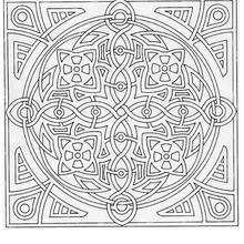 Coloriage de Mandala N°69 - Coloriage - Coloriage MANDALA