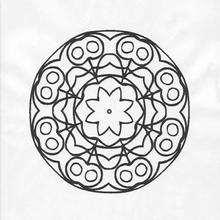 Coloriage de Mandala N°88