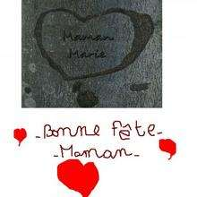 Marie Caron de Coquelles (France) - Dessin - Dessin FETES - Dessin FETE DES MERES - Dessin FETE DES MERES A IMPRIMER