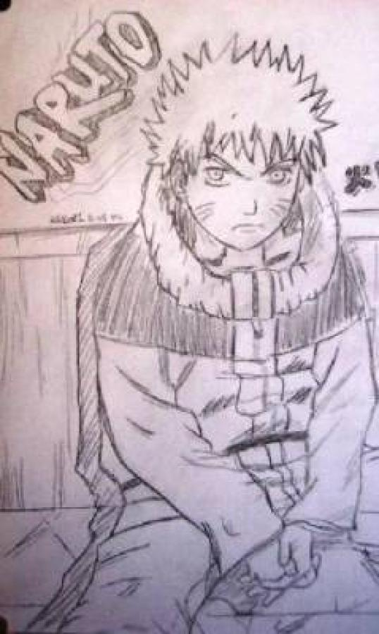Naruto de Theo - Dessin - Dessins de dragons