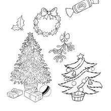 Coloriage de Noël - Coloriage - Coloriage OUI-OUI - Coloriage OUI-OUI ET LES QUATRE SAISONS