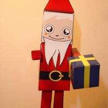PaperToy du Père Noël (moyen)