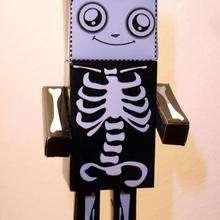 PaperToy Squelette (moyen)