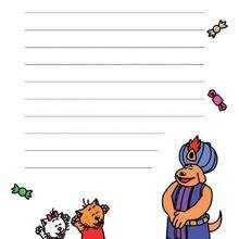 Papier à lettres (garçon) - Activités - BRICOLAGE ENFANT - Les activités de Charivari