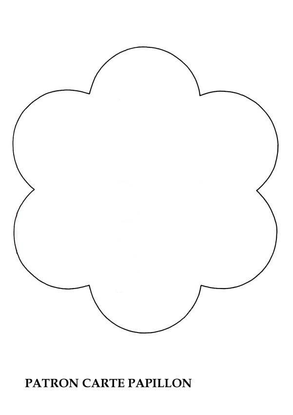 Patron pour la carte papillon - Activités - Bricolage - Tous les patrons à imprimer