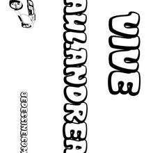 Paul-Andrea - Coloriage - Coloriage PRENOMS - Coloriage PRENOMS LETTRE P