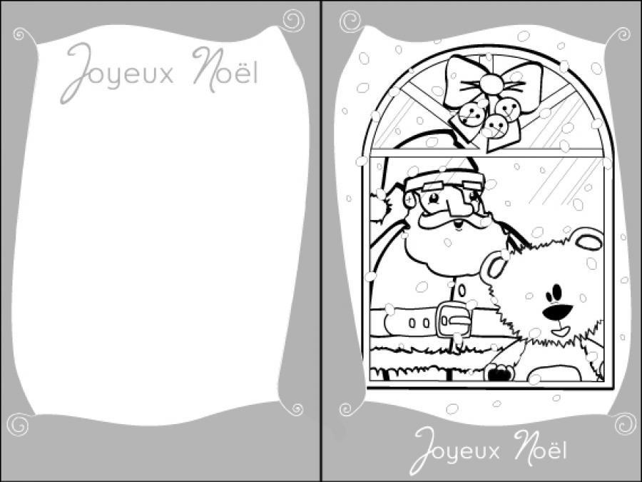 Coloriages Le Pere Noel Reve De Cadeaux Fr Hellokids Com