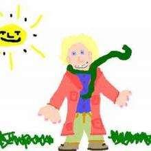 Dessin d'enfant : Petit Prince