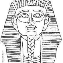 Coloriage d'un Pharaon - Coloriage - Coloriage A IMPRIMER - Coloriage A IMPRIMER PERSONNAGES - Coloriage de PERSONNAGES HISTORIQUES