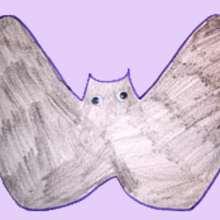 Tuto de dessin : Dessiner une chauve-souris avec ses mains
