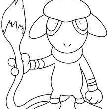 Queulorior - Coloriage - Coloriage POKEMON