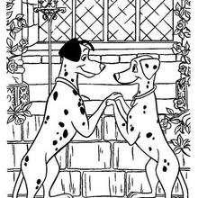 Coloriage Disney : 101 dalmatiens à imprimer