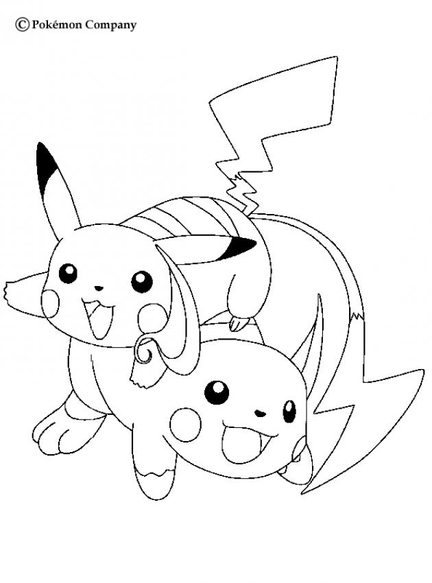 Coloriages Pokemon Fr Hellokids Com