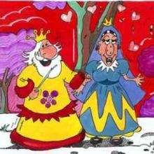 Roi et reine - Dessin - Dessin PERSONNAGE - Dessin ROI